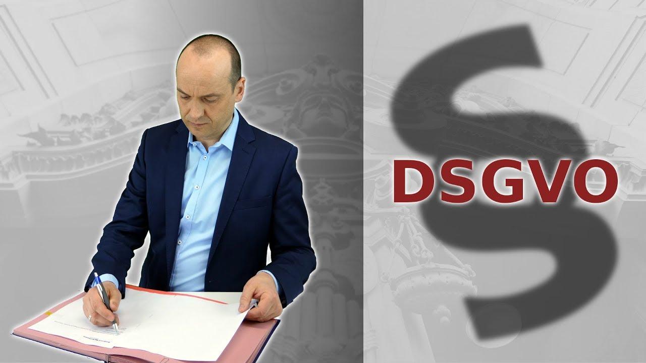 DSGVO - Datenschutzgrundverordnung - Macht den Bürger fertig!
