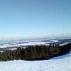 wunderschöne Aussicht ins winterliche Kulmbacher Land